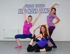 Педагоги эстрадного танца Екатерина Разина, Елена Буковская и Екатерина Ермакова