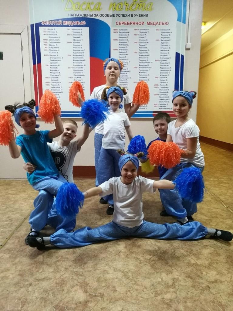 Фото участников танцевальной секции «Ars Nova Dance» на собрании
