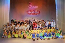 Снимок участников отчетного майского концерта во Рязанском Дворце Молодежи