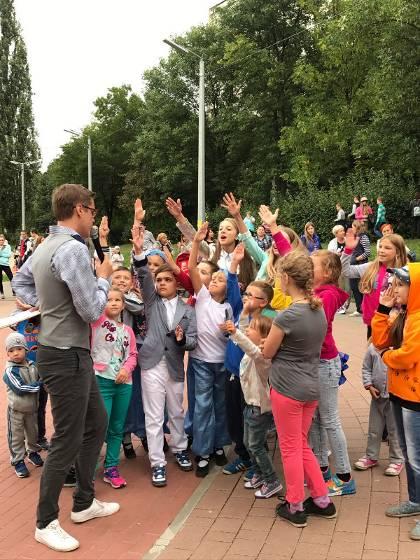 Фото детей на празднике 31.08.2017
