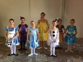 фото юных танцоров студии Арс Нова Dance